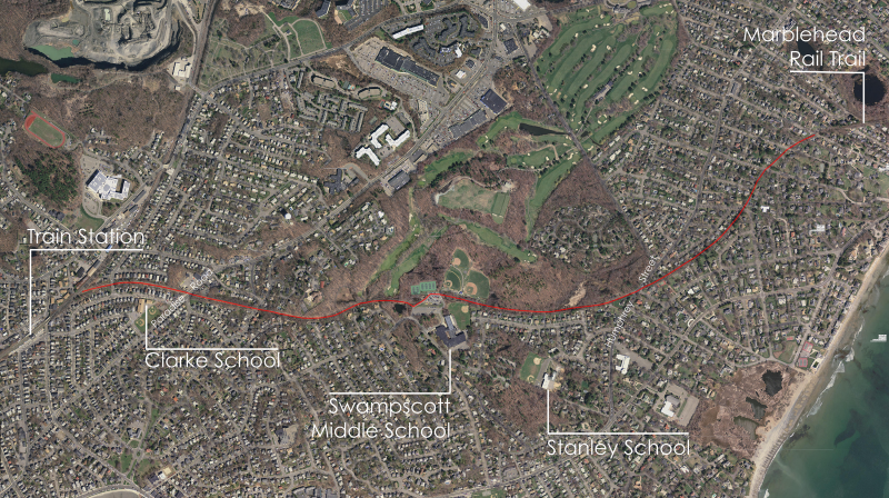 Rail Trail Proposed Location