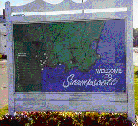 Welcome to Swampscott Sign