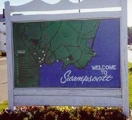 Welcome to Swampscott Sign
